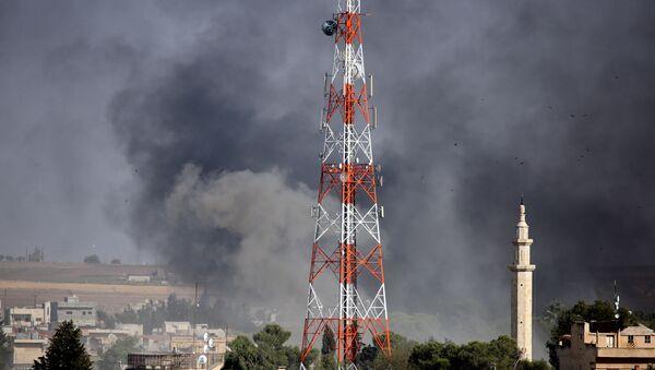 Syrská opozice s tureckou podporou obsadila centrum města Ras Al Ain - Sputnik Česká republika