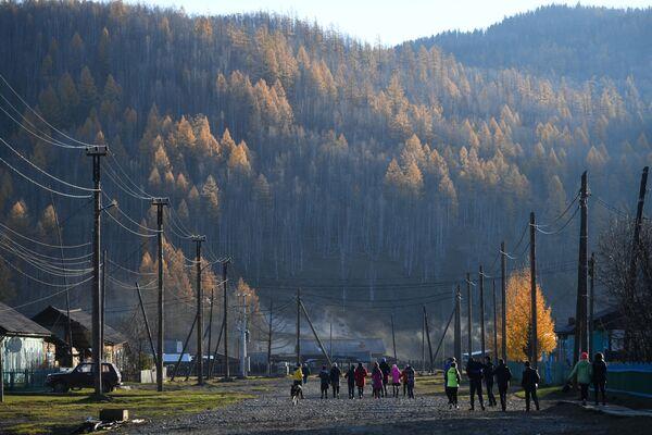 Vesnice Alygdžer v Irkutské oblasti - Sputnik Česká republika