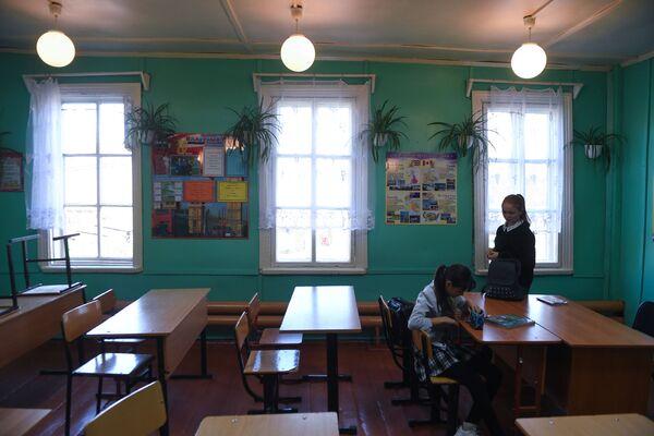 Žáci ve škole - Sputnik Česká republika