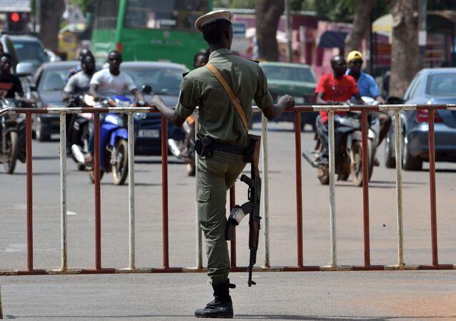Policista v Burkina Faso