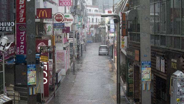 Následky tajfunu Hagibis v Japonsku - Sputnik Česká republika