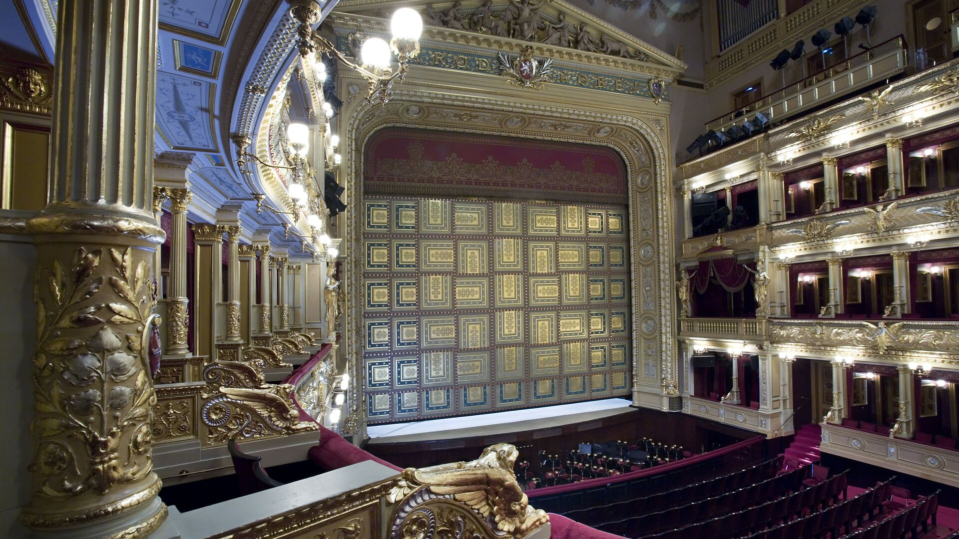 Scéna Národního divadla v Praze - Sputnik Česká republika, 1920, 17.05.2021