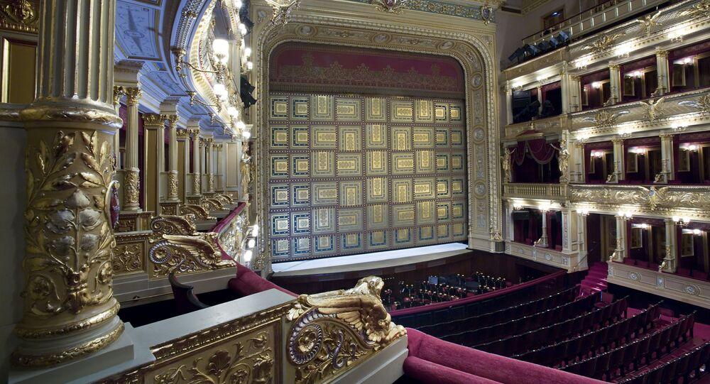 Scéna Národního divadla v Praze