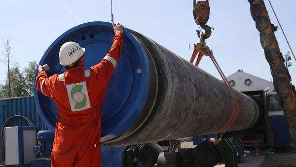 Nord Stream 2 - Sputnik Česká republika