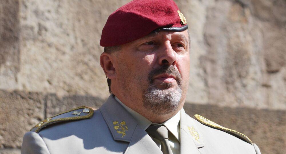 Náčelník generálního štábu Armády České republiky Aleš Opata