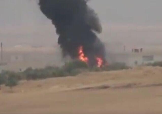 Zničení německé vojenské techniky tureckých útočníků v Sýrii