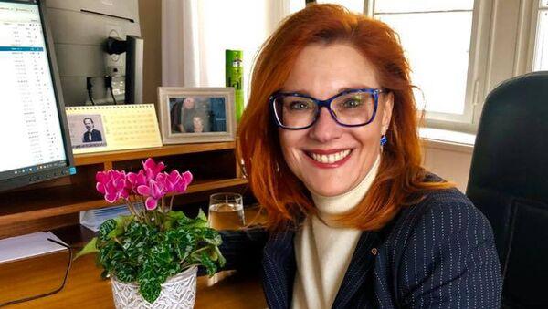 Poslankyně Zuzana Majerová Zahradníková - Sputnik Česká republika