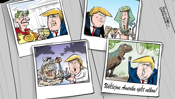 Spojené státy spolupracovaly už s dinosaury - Sputnik Česká republika