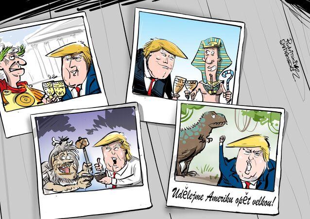 Spojené státy spolupracovaly už s dinosaury