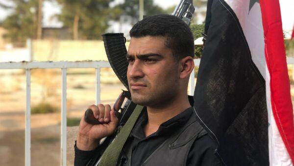 Voják syrské vládní armády - Sputnik Česká republika