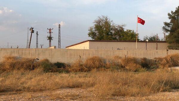 Stěna na hranici Turecka a Sýrie - Sputnik Česká republika