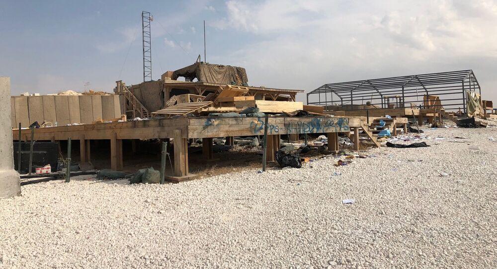 Vojenská základna USA v Sýrii, kterou opustili američtí vojáci