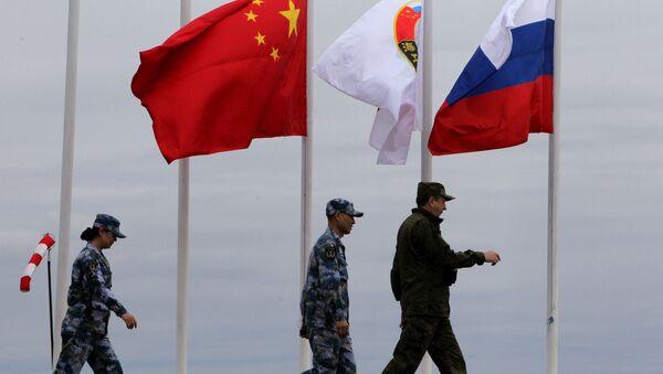 Mořská vojenská cvičení Ruska a Číny. Archivní foto - Sputnik Česká republika