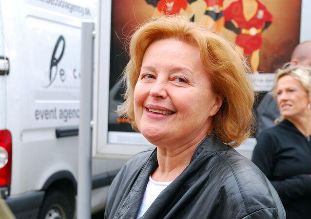 Slovenská herečka a bývalá diplomatka Magda Vášáryová