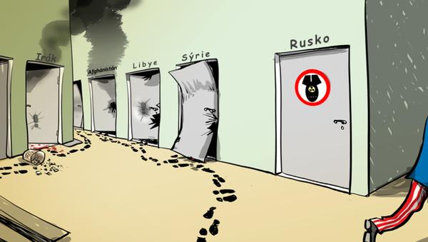 Sem ne, strýčku Same! - Sputnik Česká republika