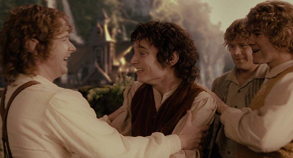 Záběr z filmu Pán prstenů