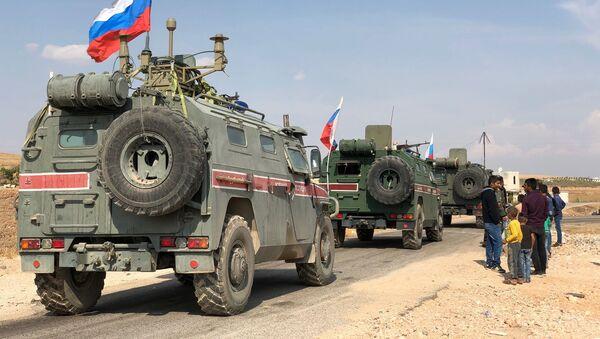 Ruští vojenští policisté v Sýrii - Sputnik Česká republika