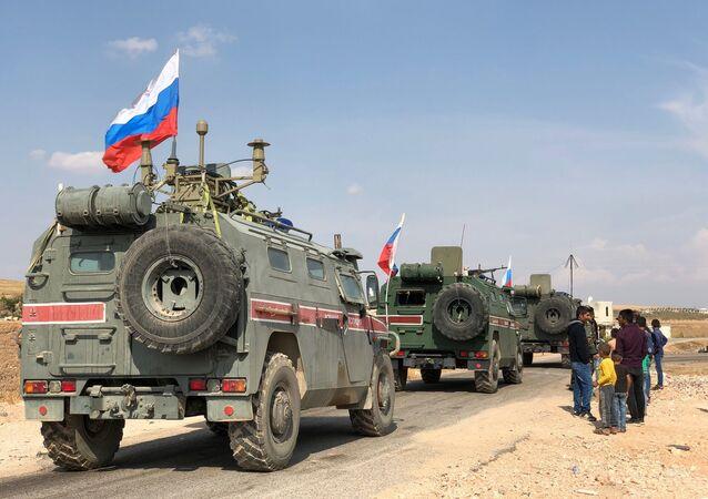 Ruští vojenští policisté v Sýrii