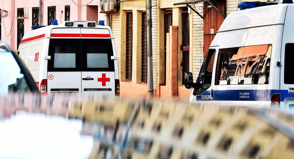 Sanitka a policie