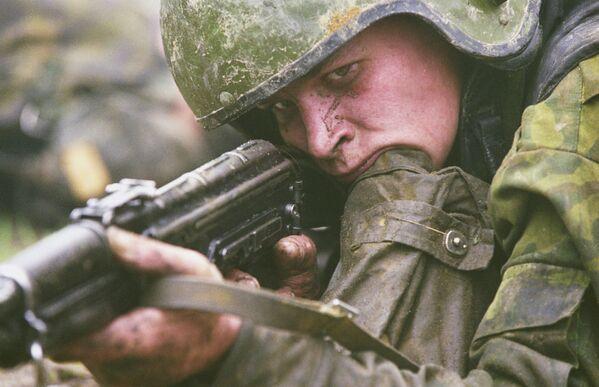 Mezinárodní soutěž speciálních jednotek na ruském cvičišti Merkurij. - Sputnik Česká republika