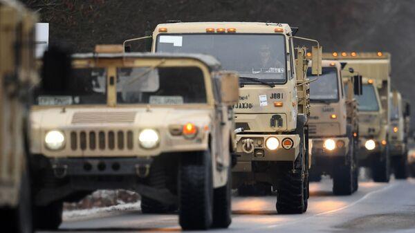 Americká armáda v Evropě - Sputnik Česká republika