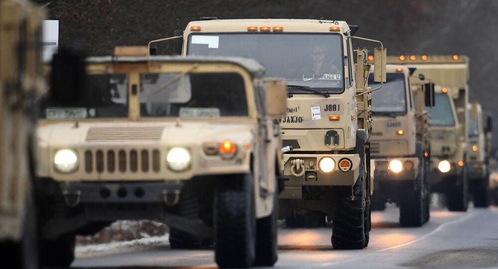 Americká armáda v Evropě