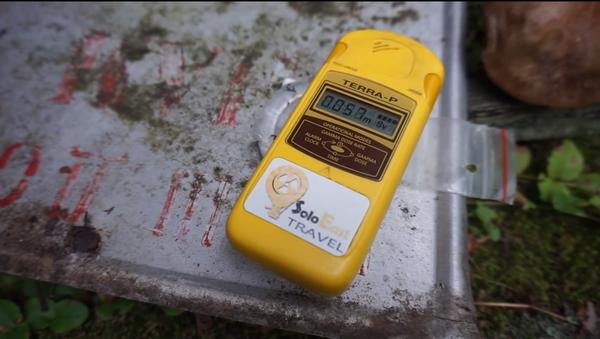 """Černobyl připravil """" smrtící dárek"""". O svém nálezu informoval turista z Velké Británie - Sputnik Česká republika"""