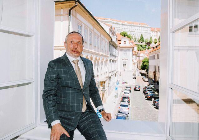 Předseda nového hnutí Trikolóra Václav Klaus mladší