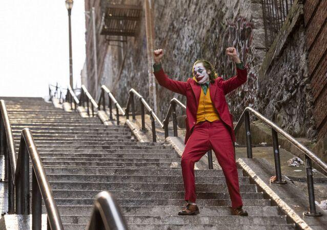 Snímek z filmu Joker