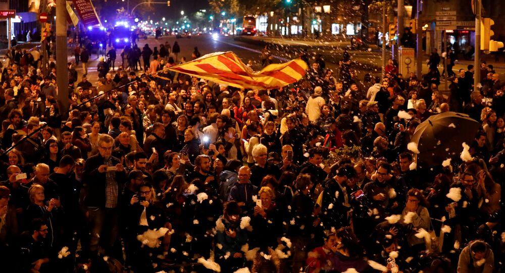 V Barceloně znovu začaly protestní akce