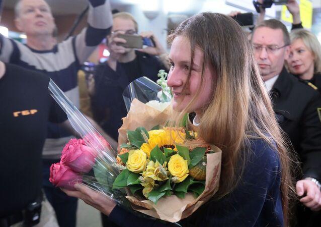 Maria Butinová se dostala z vězení: Žila jsem v iluzi, že USA jsou právním státem