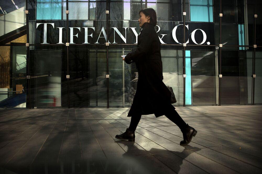 Obchod značky Tiffany & Co. v Pekingu.