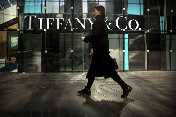 Obchod značky Tiffany & Co. v Pekingu. - Sputnik Česká republika