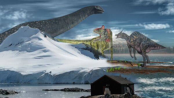Nestvůry Antarktidy. Vědci objevili nejpodivnější dinosaury - Sputnik Česká republika