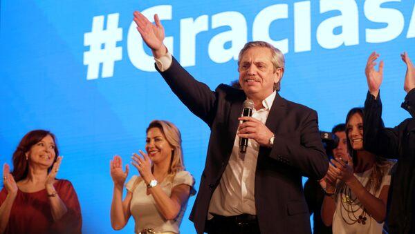 Nový argentinský prezident Albert Fernández - Sputnik Česká republika