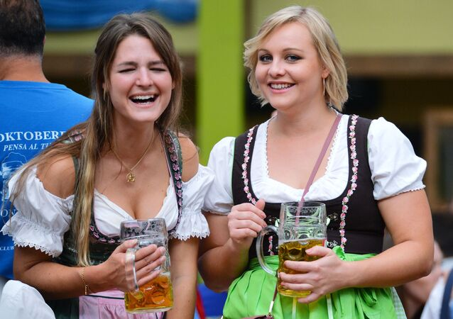 Oktoberfest v Mnichově