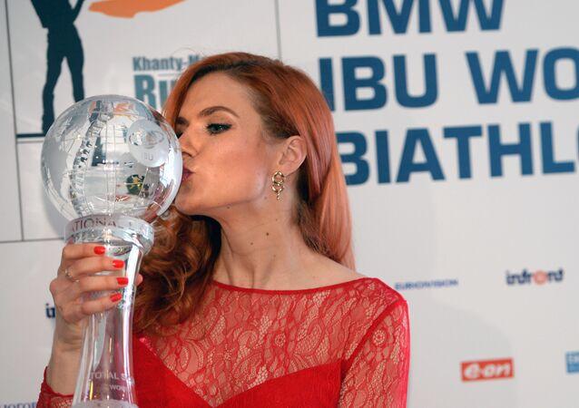 Bývalá biatlonistka Gabriela Koukalová
