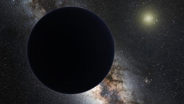 Umělecké zobrazení nové planety ve Sluneční soustavě - Sputnik Česká republika