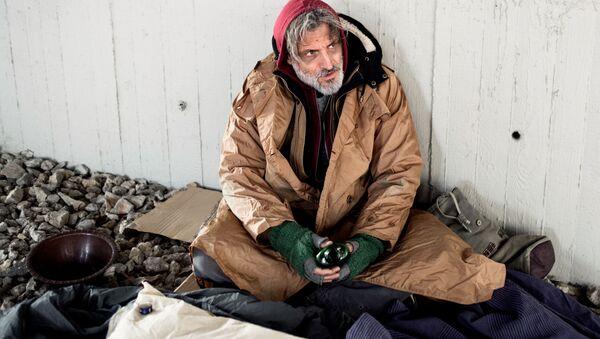 Bezdomovec. Ilustrační foto - Sputnik Česká republika