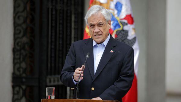 Chilský prezident Sebastián Piñera - Sputnik Česká republika