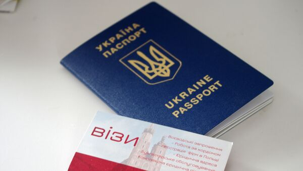 Ukrajinský cestovní pas - Sputnik Česká republika