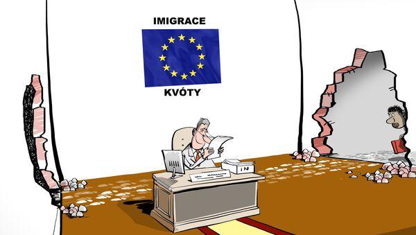 Uprchlická krize? Všechno je pod kontrolou - Sputnik Česká republika