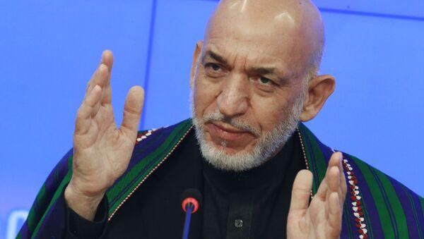 Bývalý afghánský prezident Hámid Karzaj - Sputnik Česká republika