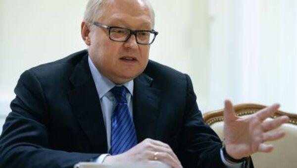 náměstek ruského ministra zahraničí Sergej Rjabkov - Sputnik Česká republika