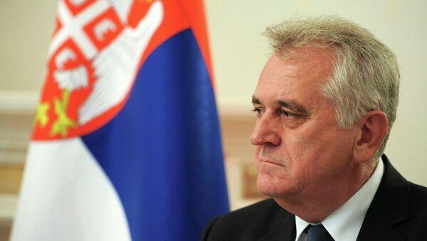 Srbský prezident Tomislav Nikolić - Sputnik Česká republika