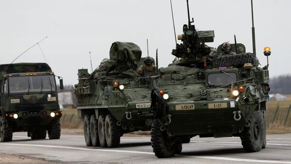 Vojenská technika NATO. Ilustrační foto - Sputnik Česká republika