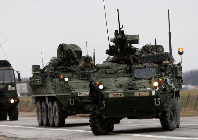 Vojenská technika NATO. Ilustrační foto