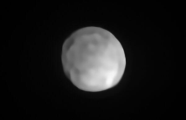 Vědci zjistili, že toto těleso z hlavního pásu asteroidů Hygiea odpovídá všem parametrům, aby mohlo být považováno za trpasličí planetu. - Sputnik Česká republika