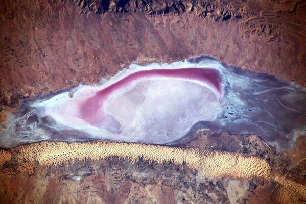 Pohled na Afriku z paluby Mezinárodní kosmické stanice. - Sputnik Česká republika