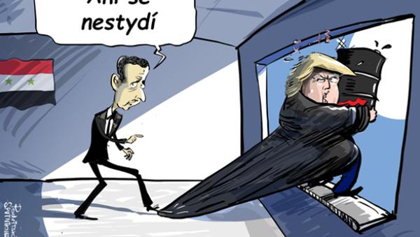 Podle Asada je Trump nejlepší americký prezident - Sputnik Česká republika